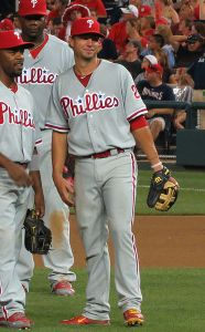 Kevin Frandsen played a big role for the Phillies in 2012, earning him a spot on the 2013 bench.(By Matthew Straubmuller on Flickr (Original version) UCinternational (Crop) [CC-BY-2.0], via Wikimedia Commons)