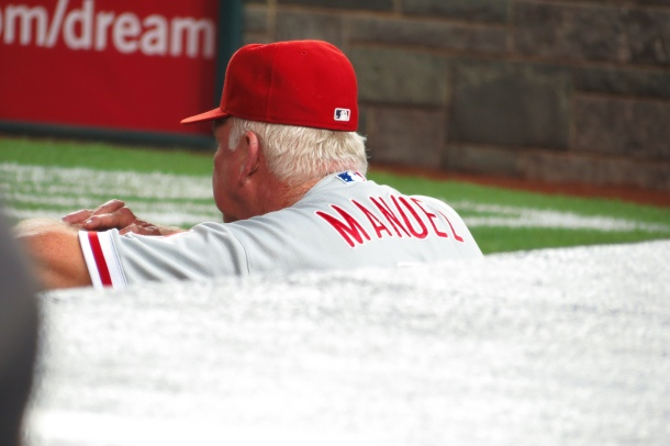 Charlie Manuel will set the franchise record for games managed in May 2013.(Photo Credit: Matthew Straubmuller via photopin cc)